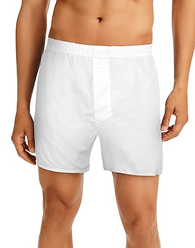 Hanes Men's TAGLESS® Full-Cut Boxer with Comfort Flex® Waistband 4-Pack - HN110W4