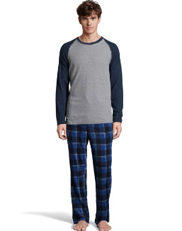 Hanes X-Temp™ Men's Microfleece Sleep Set men Hanes