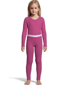 Hanes X-Temp™ Girls' Organic Cotton Thermal Set youth Hanes