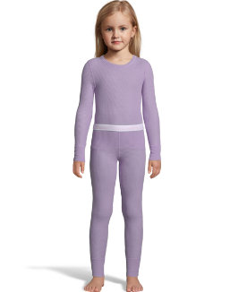 Hanes X-Temp™ Girls' Organic Cotton Thermal Set youth Hanes