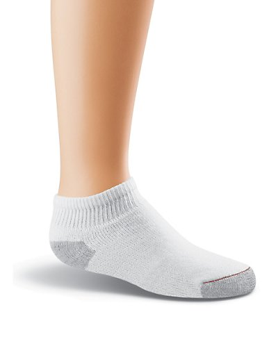 Hanes Classics Boys' Low-Cut EZ Sort Socks 6-Pk - 363_6