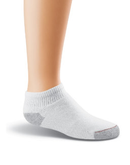 Hanes Ultimate Boys' Low-Cut EZ Sort® Socks 6-Pk youth Hanes