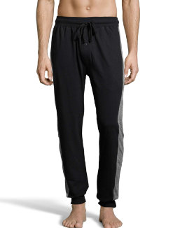 Hanes Men's 1901 Heritage French Terry Jogger Pant with Side Panels men Hanes