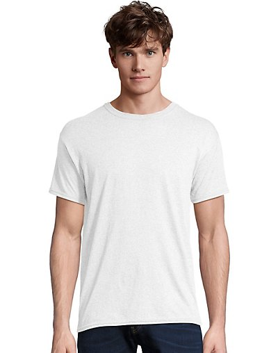 Hanes Men's X-Temp with Fresh IQ Tri-Blend Performance Tee 42TB