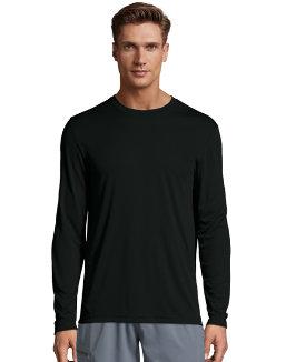Hanes Cool DRI® Performance Men's Long-Sleeve T-Shirt men Hanes