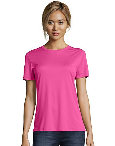 Hanes Women's Cool Dri Performance Nano-T T-Shirt 4830