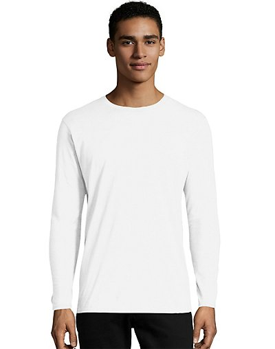 Hanes Men's NANO-T Long Sleeve T-Shirt 498L