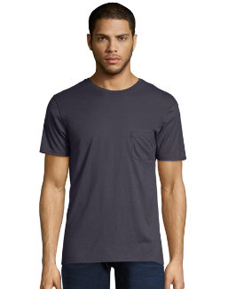 Men's Nano-T Pocket T-Shirt men Hanes