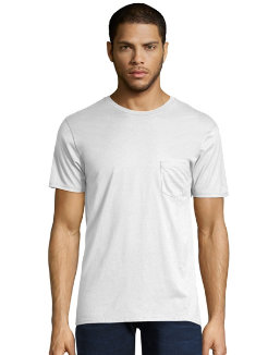 Men's Nano-T Pocket T-Shirt men Hanes