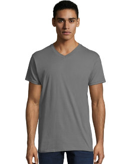 Men's Nano-T V-Neck T-Shirt men Hanes
