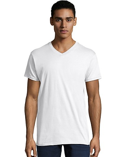 Hanes Men's Nano-T V-Neck T-Shirt - 498V