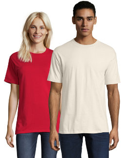 Hanes Beefy-T Adult Short-Sleeve T-Shirt men Hanes