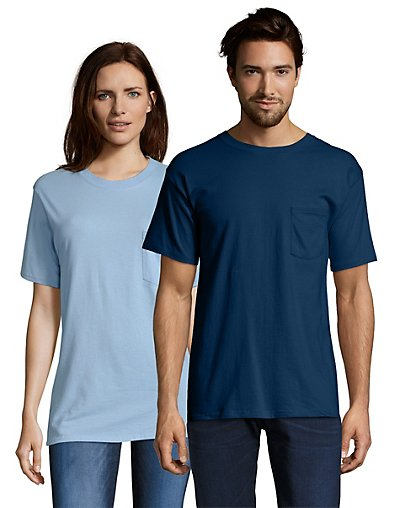 Hanes 5190  Beefy-T Adult Pocket T-Shirt