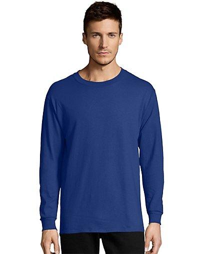 Hanes Men's TAGLESS® Comfortsoft® Long-Sleeve T-Shirt