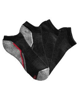 Hanes Men's X-Temp® Arch Support Ventilation No-Show Socks 4-Pack men Hanes