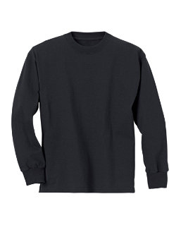 Hanes Youth ComfortSoft® TAGLESS® Long-Sleeve T-Shirt youth Hanes