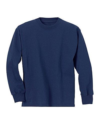Hanes Youth TAGLESS® Long-Sleeve T-Shirt - 5546
