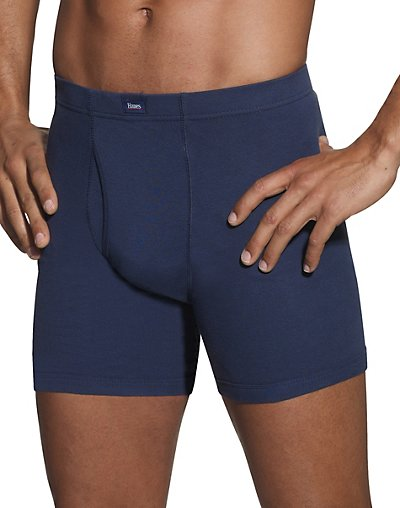 Hanes Classics Men's Dyed Boxer Briefs with ComfortSoft® Waistband 5-Pack - 769CP5