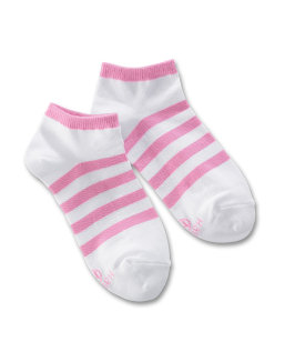 Hanes Ultimate Girls' Liner Socks 4-Pack youth Hanes