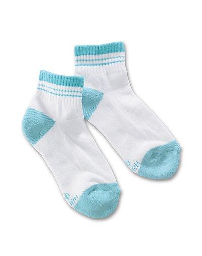 Hanes 779/4  Classics Girls' Ankle Socks 4-Pack