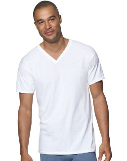 Hanes Ultimate™ ComfortSoft® TAGLESS® Men's V-Neck Undershirt 3-Pack men Hanes