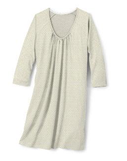 Hanes Women's Plus ComfortSoft® 3/4 Sleeve Raglan Sleepshirt women Hanes