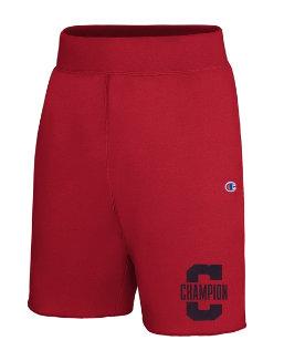 Champion Men's Heritage Fleece Shorts, Letterman Leg men Champion