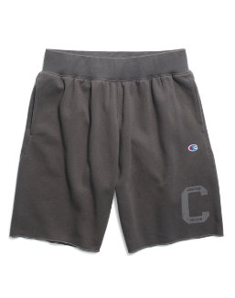 Champion Men's Heritage Fleece Shorts, Letterman Leg men Champion