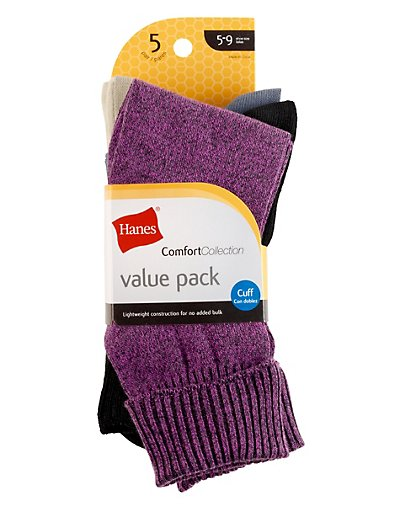 401df273e70 Hanes Perfect X-Temp® Blackout Knee Socks 2-Pack - HST013 - Watford ...