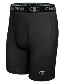 Champion PowerFlex Men's Solid Compression Shorts men Champion