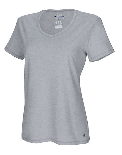 Champion Authentic Women's Jersey V-Neck Tee - 8875