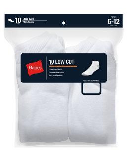 Hanes Ultimate Men's Low Cut Socks 10-Pack men Hanes