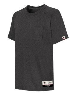 Champion Authentic Originals Men's Soft-Wash Short Sleeve Pocket T-shirt men Champion