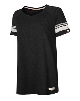 Champion Authentic Originals Women's Triblend Short Sleeve Varsity T-shirt women Champion