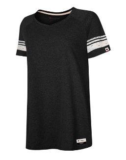 Champion Authentic Originals Women's Triblend Short Sleeve Varsity T-shirt women Champion