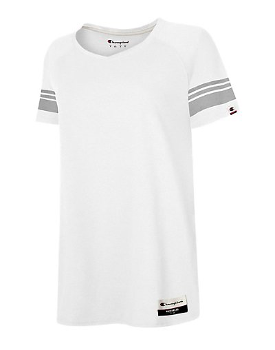 Champion Authentic Originals Women's Triblend Short Sleeve Varsity T-shirt - AO350
