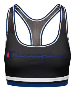 Champion The Absolute Mesh Sports Bra, Script Logo women Champion