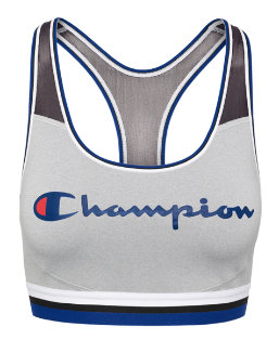 Champion The Absolute Mesh Sports Bra, Script Logo women Champion