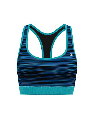 Champion The Absolute Workout Printed Sports Bra - B1251P