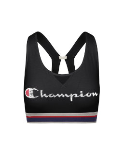 Champion Women The Authentic Sports Bra-Champion Script two colorway women Champion