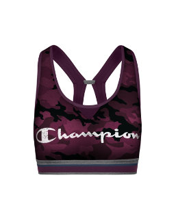 Champion Women The Authentic Sports Bra-Distressed Script women Champion