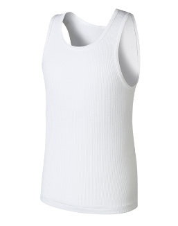 Boys' Hanes Ultimate ComfortSoft® White Tank Undershirt 5-Pack youth Hanes