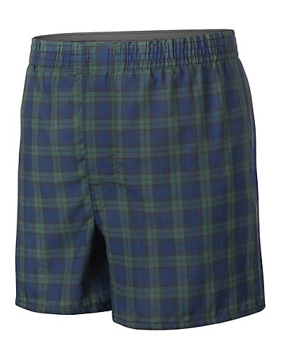 Hanes Boys' Ultimate Tartan Boxer with Comfort Flex® Waistband 3-Pack - BU845C