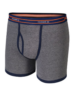 Hanes X-Temp® Boys' Ringer Boxer Brief with Comfort Flex® Waistband 4-Pack youth Hanes
