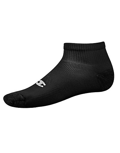 Champion Double Dry® Performance Men's Quarter Socks - Extended Sizes 6-Pack - CH601P
