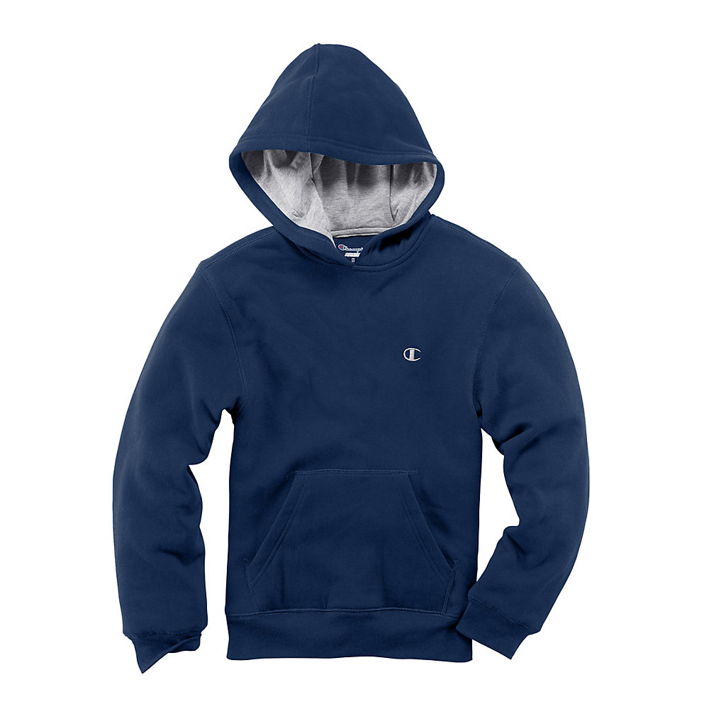 Champion Girls' Pullover Hoodie - C7388R - Navy - XL at Sears.com