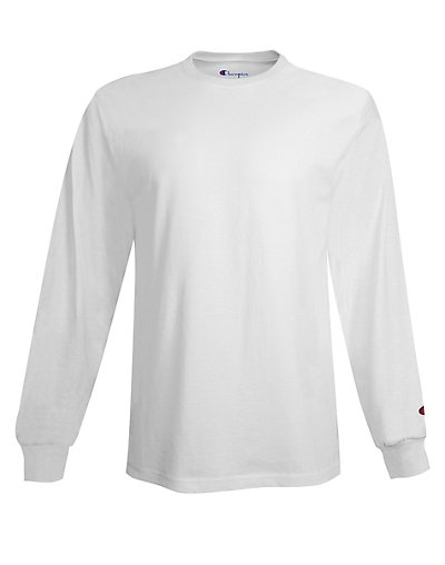 Champion Men's Long Sleeve Tee - CC8C
