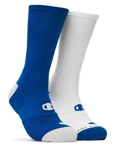 Champion CH120  Men's Basketball Crew Socks 2-Pack