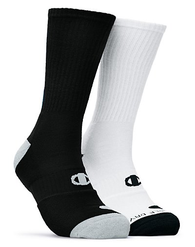Champion Men's Basketball Crew Socks 2-Pack - CH120