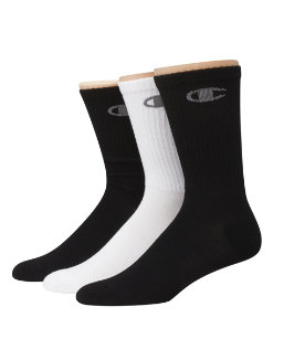 Champion Men's Performance Crew Socks 3-Pack men Champion